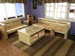 Pallet Living Room Furniture Set