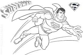 Pages For Printable Print Super Hero Superman Coloring