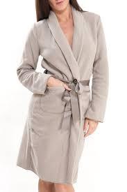 robe de chambre en robe de chambre beige polaire simply beige polaire antigel