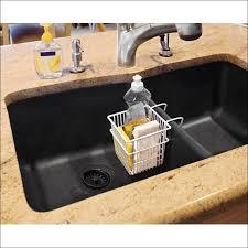 bathroom marvelous over the sink basket kitchen scrub holder
