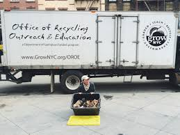 Nyc Christmas Tree Disposal 2014 by Compost Grownyc