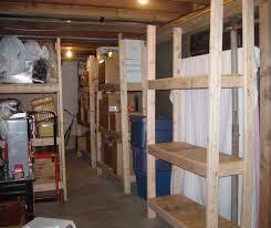 toin wood shelf plans basement