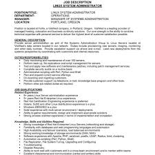 Administrative Manager Resume Example Human Resources With Regard To Data Center Officer Job Description Best Director