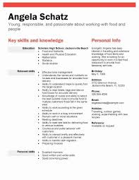 Student With No Experience Fresh Sample High School Resume For College Aurelianmg Related Post