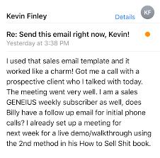Sales Geneius Weekly