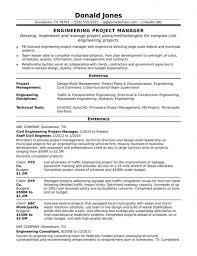 Medium To Large Size Of Project Manager Profile Resume Sample Templates Unique India Engineering Midlevel Doc