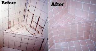 easy way to clean grout on floors showers bathroom and kitchen tiles