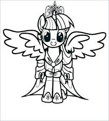 Printable Coloring Pages My Little Pony Rarity