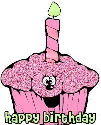 Happy Birthday Cupcake Clipart ·