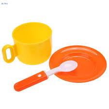 13 Pieces Set Children Kids Pretend Play Kitchen Baby Tea Coffee Dishes Cup Spoon Child Furniture Toy Education Funny NJ6 In Toys From