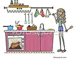 Kitchen Clipart Clean Home Design Ideas Free Download