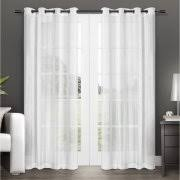 Walmart Mainstay Sheer Curtains by Grommet Top Curtains
