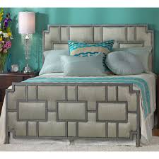 Wesley Allen King Size Headboards by Capistrano Iron U0026 Upholstered Bed By Wesley Allen Humble Abode