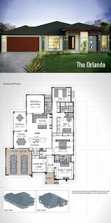 100 Modern House Plans Single Storey Design The Orlando A Generous Size Of 278 Sq