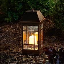 smart solar san rafael ii solar plastic lantern reviews wayfair
