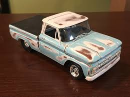 1964 CHEVY FLEETSIDE PICKUP TRUCK CAR MODEL KIT - Rat Rod - Wreck ... 1964 Chevrolet C10 Pickup Buy Sell Make Offer Chevrolet For Sale 2042659 Hemmings Motor News Sedate Sedan Chevy Ii Nova 400 The Trucks Page Projecptscarsandtrucks Chevy Truck Promoted By Fab Forums Fabrication Synthesis New Parts Added And Website Updates Aspen Auto Joe Wood Swapped A Bel Air Wagon This Gmc 1000 12 Ton 2wd 350 4 Spd Fleet Side Lb Parts 1965