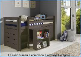 lit et bureau enfant nouveau lit surélevé fly collection de lit design 3621 lit idées