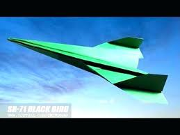 Easy Paper Airplanes Fighter Jet Airplane Origami