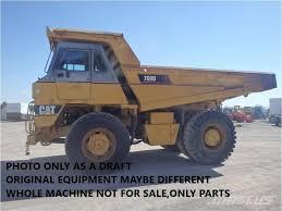100 Dump Trucks Videos Caterpillar DUMPER 769D ONLY FOR PARTS Rigid Dump Trucks Mascus UK