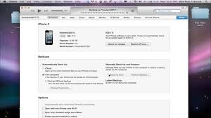 How to Backup iPhone and iPad with iTunes