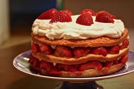 Strawberry Cream Cake Recipe
