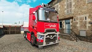 100 Euro Truck Simulator 3 Renault T V4 For 2