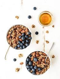 Pumpkin Flaxseed Granola Nutrition Info by Honey Almond Flax Healthy Granola Recipe