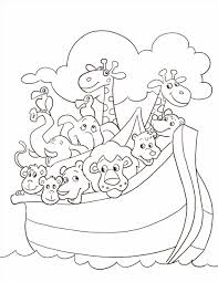 Rainbow Coloring Page Unique Covenant With Noah Free Printable Building