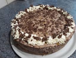 schoko pfirsich torte