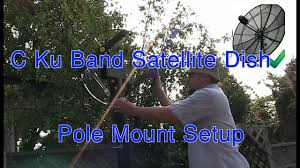 Setting Up A C Ku Band Satellite Dish Part 1 Pole Mount Setup ... Commercial Sallite Dish Cleaning Extreme Clean Of Georgia Looking To Recycle Your Tv Read This First Backyard Shack And Sallite Dish Calvert Texas Photo Page Me My Husband Painted An Old Dishand Turned It Handy Mandys Project Emporium Patio Umbrella A Landed In Back Yard Youtube Recycled A Left Over Watering Can From Shack Bangkok Thailand With On Roof Stock Photo Large Photos Mounted Wooden Boardwalk Bamfield Vancouver Repurposed 8ft Backyard Chickens