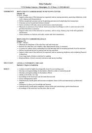 Resume Samples Cashier Restaurant Velvet Jobs Intended For Examples