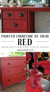 Red Painted Furniture To Make Your Heart Skip A Beat