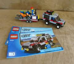 4433 Lego City Dirt Bike Transporter Complete Instructions Town ... 4433 Lego City Dirt Bike Transporter Complete Itructions Town Hobbys Are Great Review Of Decool 3360 Race Truck Lego Delivery Itructions 3221 50 Building Projects For Kids Frugal Fun For Boys And Girls 1 X Brick Town Traffic Booklet Mini Tow Truck 6423 014 Classic How To Build Moc Chevrolet Flatbed Legocom Us Book The Bobby Brix Channel Official Chevy Express Box Fresh Cargo