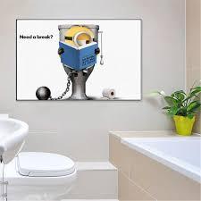 qazedc dekorative malerei hund carlino lustige minions wc
