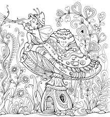 Fairy Land Coloring Book Kraina Basni