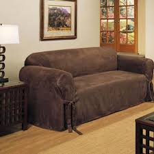 Twilight Sleeper Sofa Slipcover by Sure Fit Cotton Duck T Cushion Sofa Cover Natural Cocoa Best