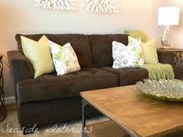 throw pillows for brown sofa 39 with throw pillows for brown sofa