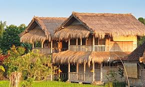 100 Bali Tea House Silent Retreat Private Bungalows Single Rooms