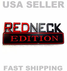 REDNECK EDITION JEEP Car TRUCK EMBLEM Logo DECAL Sign Ornament BLACK ... Redneck Roadkill Raging Bull Rc Pickup Truck Remote Control Trailer Park Sticker Us Custom Stickers Decal Value Pack Decalcomania Redneck Racing Windshield Kool Redneck Redneck_boys_21 Twitter Truckcarauto Decals And Graphics Lifted Trucks Stickers Goalblocketyco Trucker Girl Vinyl 75 X 55 Country Cowgirl Gender Reveal Goes Terribly Wrong When Father Starts Products Stickemall Decals Edition Jeep Car Truck Blem Logo Decal Sign Ornament Black