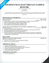 Construction Resume Example Journeyman Electrician Sample For Laborer Manager Summary