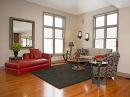 Black Grey And Red Living Room Ideas by Incredible Design Ideas Using Rectangular White Brown Wooden Wall