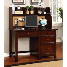 Cymax Desk With Hutch by Furniture Of America Ruthie Modern Kids Desk With Hutch In Cherry