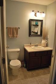 bathroom small half bath ideas with over the toilet decorating