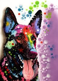 Dean Russo German Shepherd Art