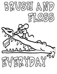 Dentist Coloring Pages For Preschool Dental Care Archives Best Page Drawing