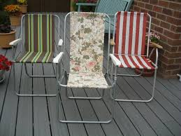 Vintage Retro Floral Deck Chair, Patio Chair, Camping Chair, Folding Chair,  VW Campervan Chair | In Newcastle, Tyne And Wear | Gumtree