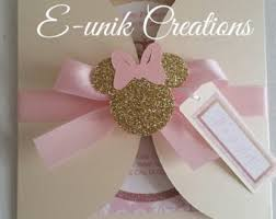 Baby Minnie Mouse Baby Shower Theme by Minnie Mouse Baby Shower Etsy