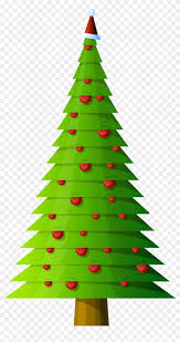 Christmas Tree Modern Style Transparent Png Clipart