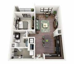 104 Two Bedroom Apartment Design Png Interior Open Floor Plan Office Google 2 Plans Transparent Png Download 3353828 Vippng