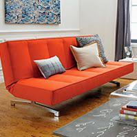 Cb2 Flex Orange Sleeper Sofa by Sofas For Small Spaces And Apartments